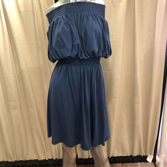 NWT Elan blue dress